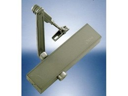 Power Adjustable Slimline Door Closers by Ozone available from Door Closer Specialist