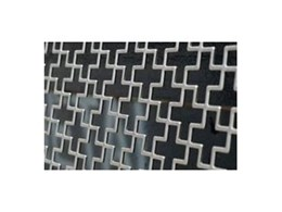 Pre-fabricated architectural screens available from Alloy