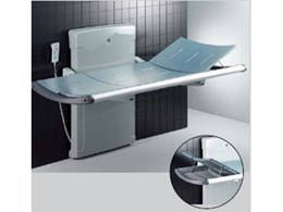 Pressalit Care nursing benches for assisted showering, from Enware Australia
