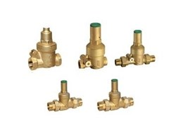 Pressure reduction valves from Galvin Engineering designed for compact fit