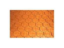 Prestige Traditional copper roof tiles available from Copper Roof Shingles