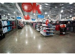 Pro Grind mechanically polished concrete floors installed in three KMART stores