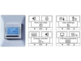 Programmable floor heating thermostats from Speedheat Floor Heating Australia