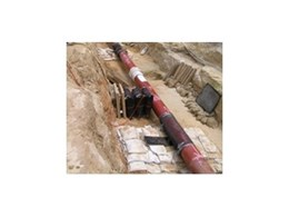 Pronal lifting bags from Air Springs Supply assist Nacap in pipeline lifting