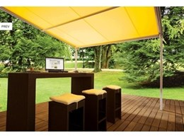 Protect and enjoy your outdoor areas with the Vario-Pergola awnings
