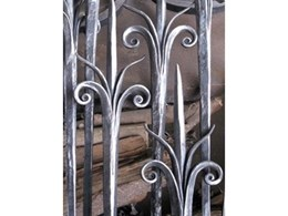 Quality scroll work makes quality wrought iron components