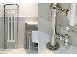 Radiator towel warmers from The English Tap Company