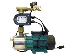 Rain Main Auto tank water supply pump systems available from Wallace Pumps
