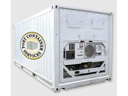Refrigerated shipping containers from Port Container Services