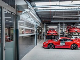Porsche Centre Melbourne contracts Remax for supply of rapid and compact doors