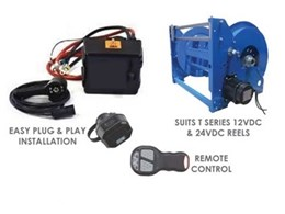 Remote control accessory now available for ReCoila steel hose reels
