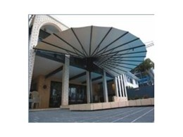 Retractable awnings available from Seashell Industries