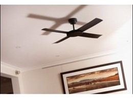 Revolution ceiling fans available through Hunter Pacific