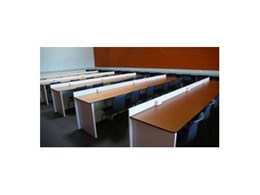 Robust computer furniture and school desks from Waterloo Systems