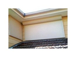 Roller shutters from Gryphon Garage Doors offer environmental protection and security