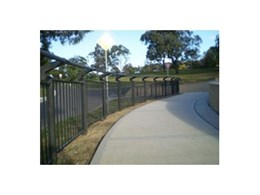 Roocycle Bikeway Fence from Moodie Outdoor Products