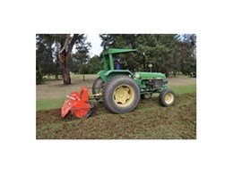 Rotary hoe from Kennards Hire assists Concord Golf Club