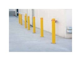 Round bollards and bollard protection sleeves from Barrier Group