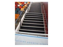 Rubber stair treads available from Floorsafe Internatinal