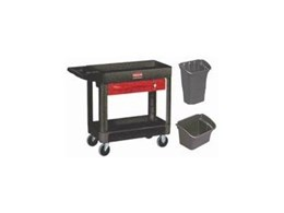 Rubbermaid heavy duty utility/ service cart from Spacepac Industries