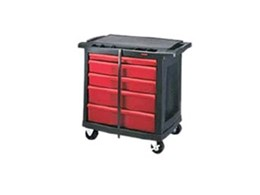 Rubbermaid multiple drawers trade cart from Spacepac Industries
