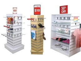 SI Retail Launches New Freestanding Slotwall Displays