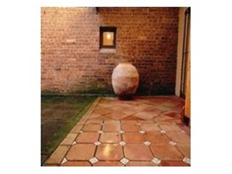 SPC handmade terracotta tiles available from Aeria Country Floors