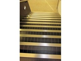 SS-SN-FT stainless steel stair nosing from Safety Stride