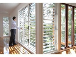 Safe and stylish window louvres available from Safetyline Jalousie
