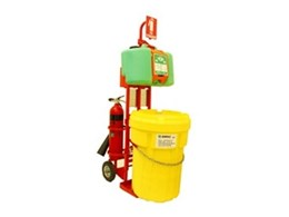 SafeEquip relocatable safety stations from Enware Australia put emergency aid where it is needed