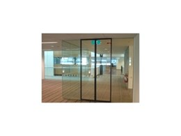 Safety door frame system from ADIS Automatic Doors