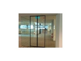 Safety door framing system from ADIS Automatic Doors
