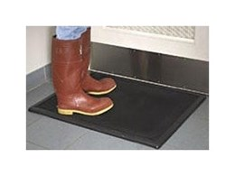 Sanitising Boot Dip mats for hygienic floors now available from General Mat Company