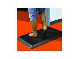 Sanitising Footbath Mat available from the General Mat Company