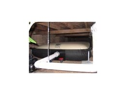 Save Rainwater with Eco Sac Under floor Rainwater Tanks