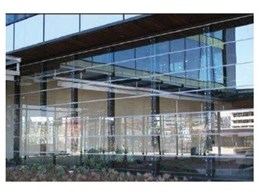 Schneider & Nolke LF550 frameless louvre window systems available from Winco Systems