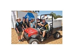 Scouts hire all-terrain utility vehicles from Kennards Hire for jamboree