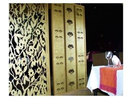 Screen Art's Floral Series decorative aluminium panels