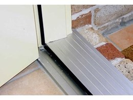 Seal doors from water penetration with Winstorm self draining door sills from Wintec Aluminium Windows and Doors Australia