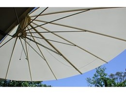 Seashell Industries' retractable radial sail awnings
