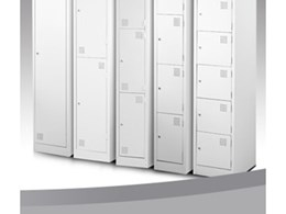 Secure steel lockers from Excel Lockers
