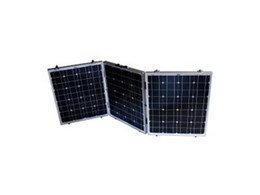 Self contained monocrystalline high efficiency solar panels available from Aus J Imports