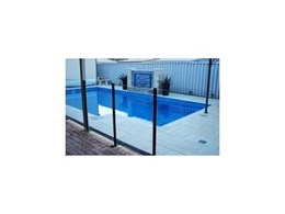 Semi Frameless Glass Fence System available from Downee