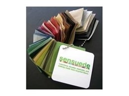 Sensuede - the first luxury faux-suede fabric that's eco-friendly