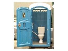 Sewer connect portable toilets available from Australian Portable Toilet Supplies