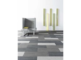 Shaw carpet tile collection encourages experimentation with colours and sizes