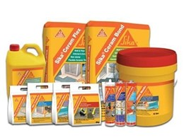 Sika launches new range of ceramic tile adhesive products
