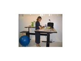 Sit-stand desks help OH&S and productivity