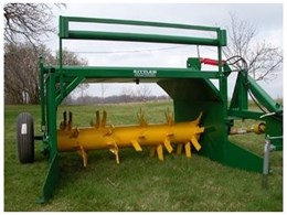 Sittler Compost Turner from Recycle & Composting Equipment