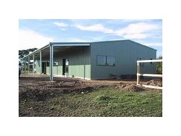 Skillion and gable roof verandahs and carports available from Trusteel